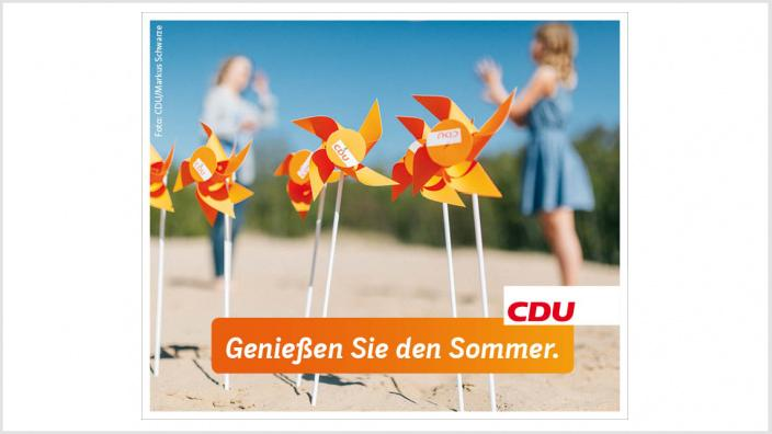 Sommerferien CDU